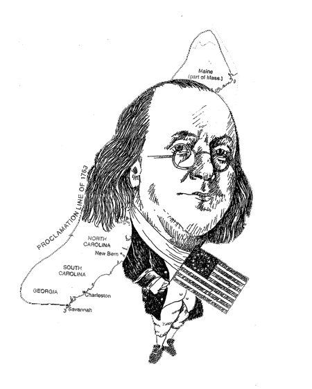 ben franklin cartoon